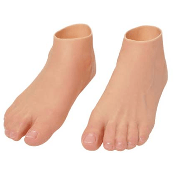 Silicone Feet and Toes.