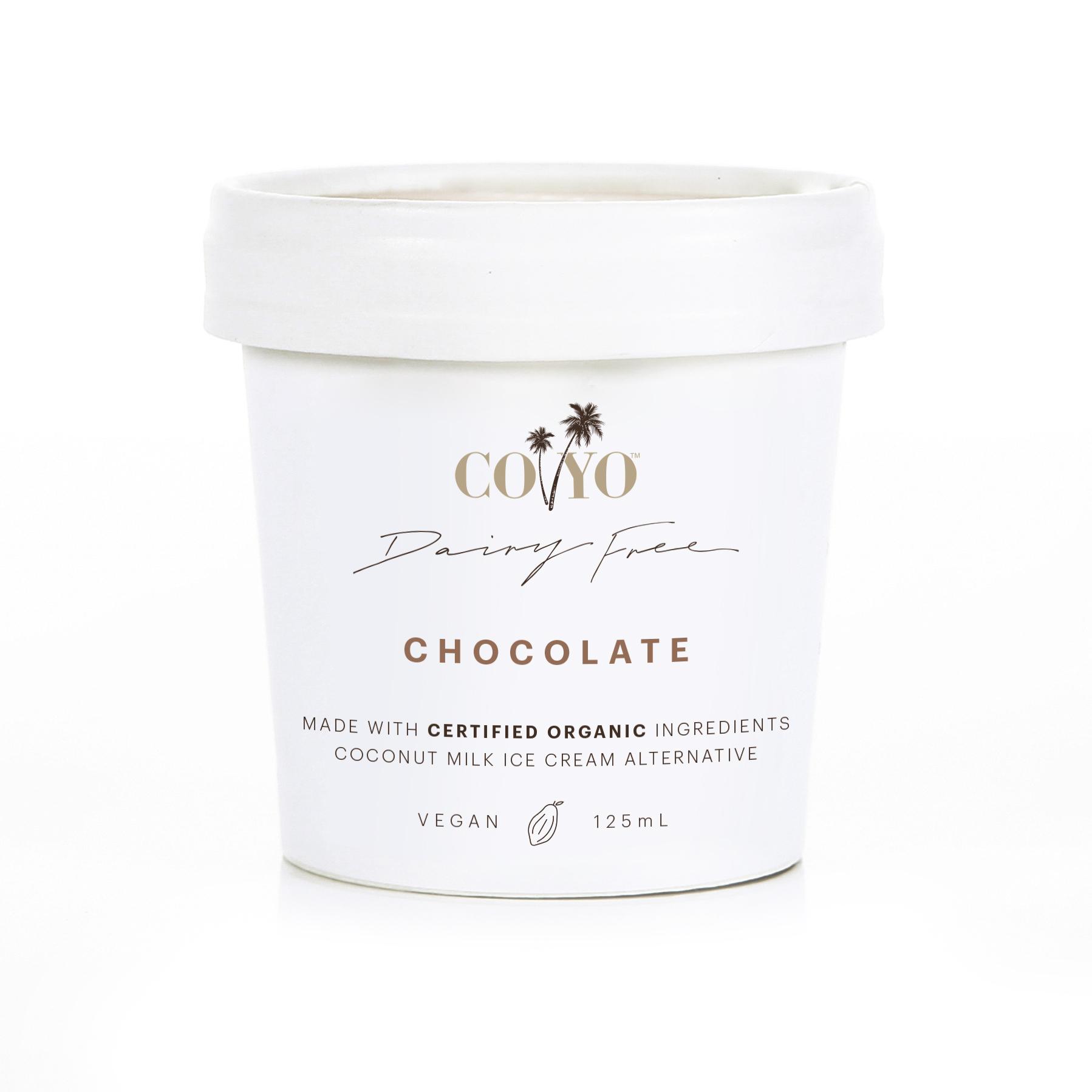 Co Yo Chocolate Ice Cream 125ml