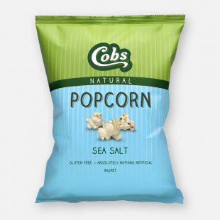 Cobs Natural Popcorn Sea Salt Born Organic