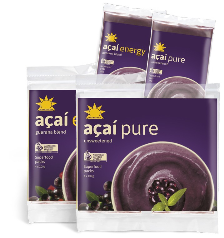 Amazonia Acai Smoothies Packs