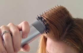 rolling hair