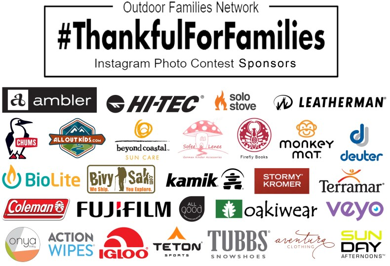 Outdoor Family Bloggers sponsor list