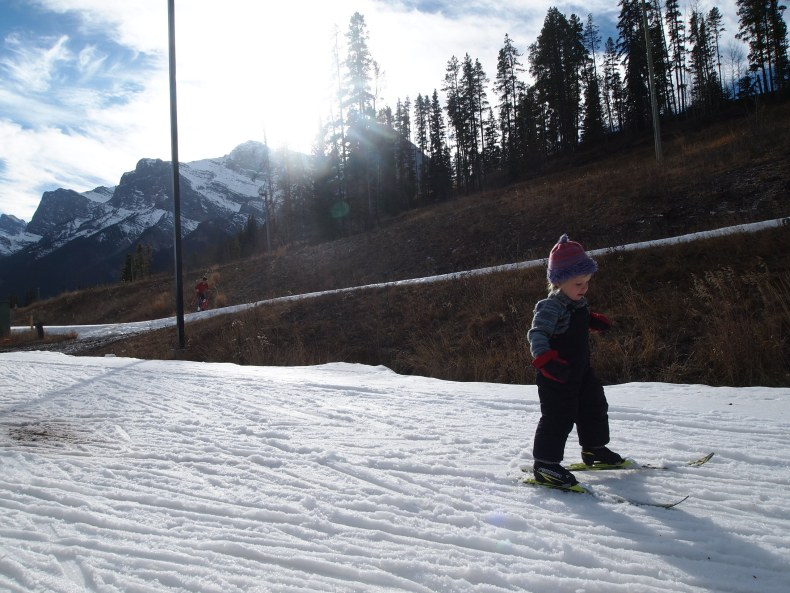 Toddler Cross Country Skiing
