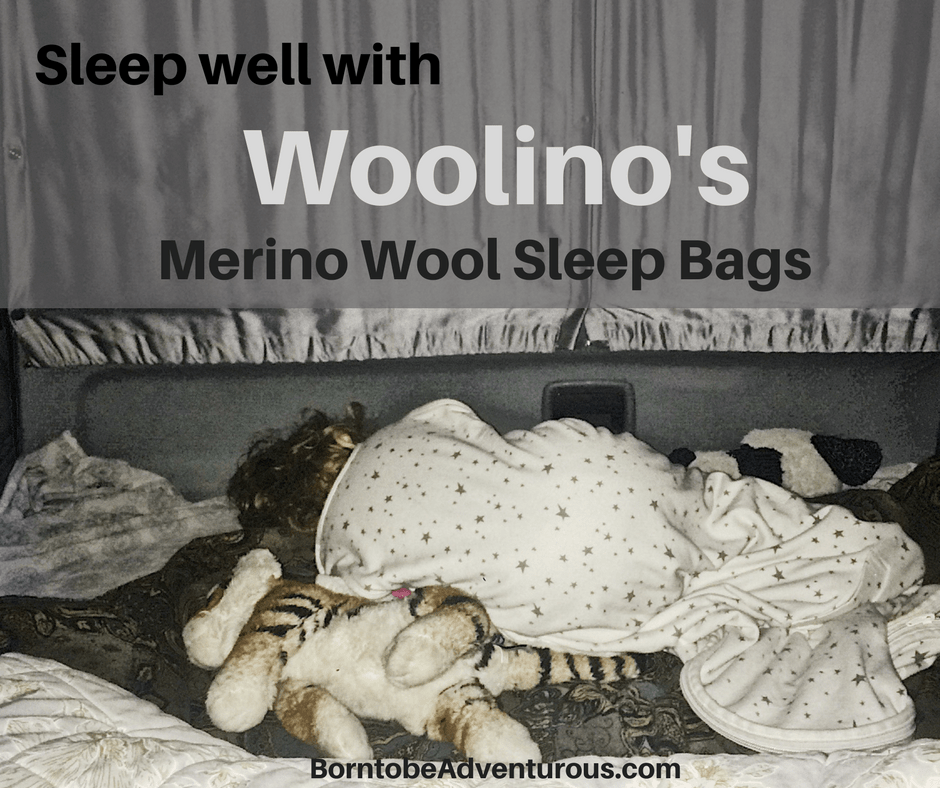 Sleep well with Woolino's merino wool sleep bags