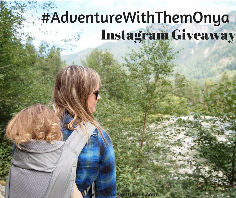 #AdventureWithThemOnya: Win the Onya Pure Baby Carrier (Instagram Giveaway)