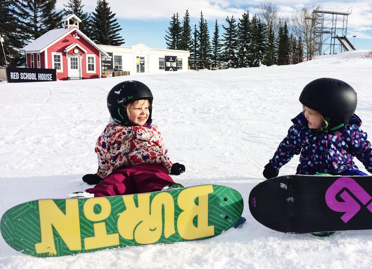 Free Snowboarding Guide for Toddlers and Preschoolers