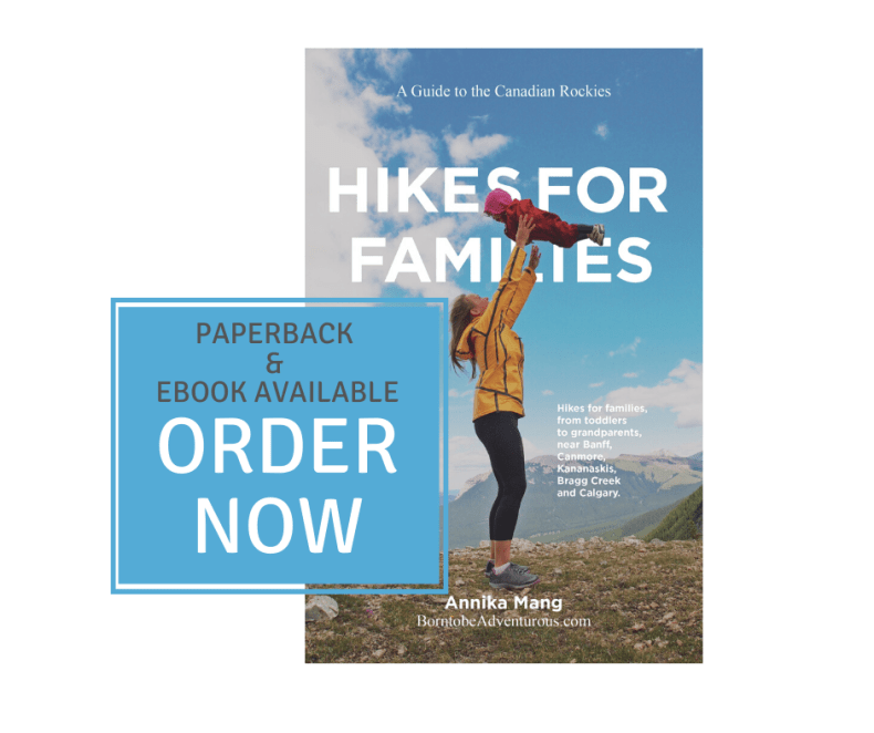 Hiking book for families