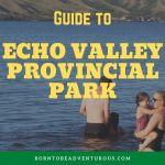 Echo Valley Provincial Park