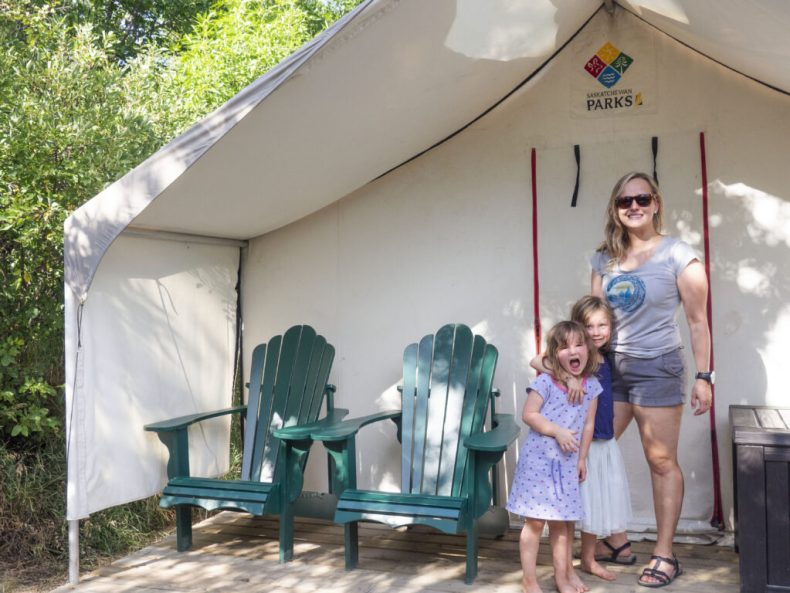 Camp Easy Saskatchewan Parks