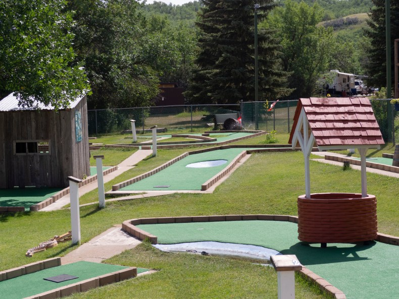 Mini Golf Buffalo Pound Provincial Park