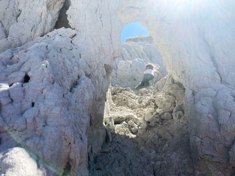 Hiking Massold Clay Canyons