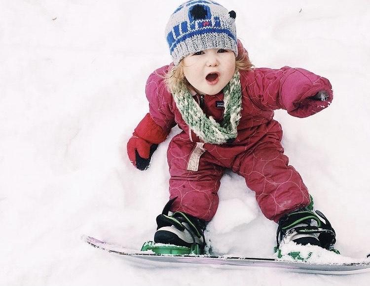 Baby Snowboard