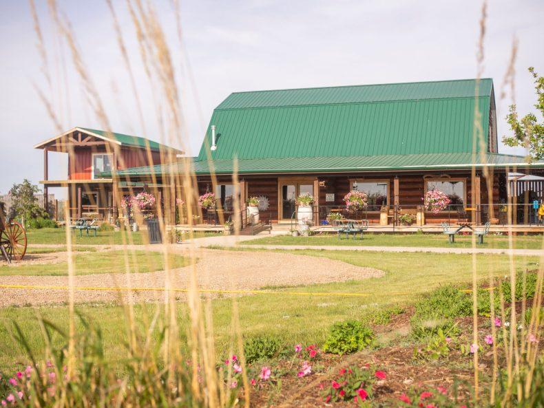 Cypress Hills Saskatchewan Food