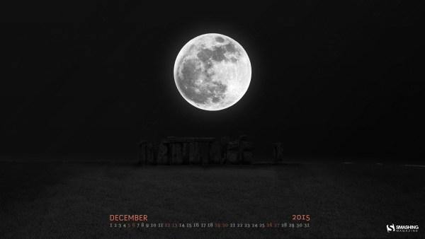 December 2015 Desktop Wallpaper
