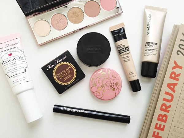 February Monthly Makeup