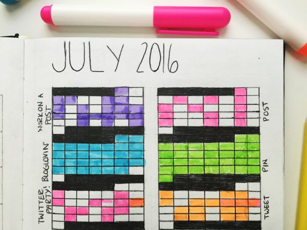 My Bullet Journal - One Month On | Born To Be Bright