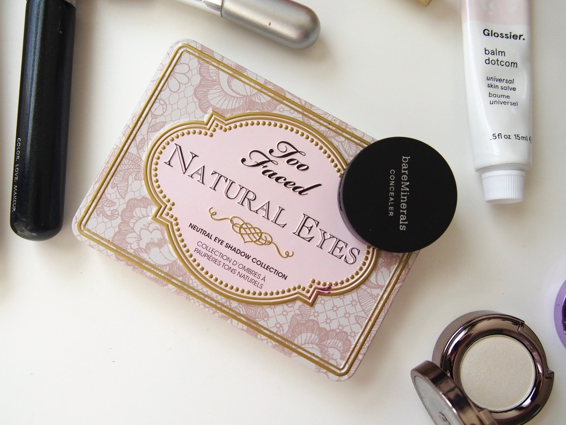 Cruelty Free Favorites - Too Faced Natural Eyes and BareMinerals Correcting Concealer