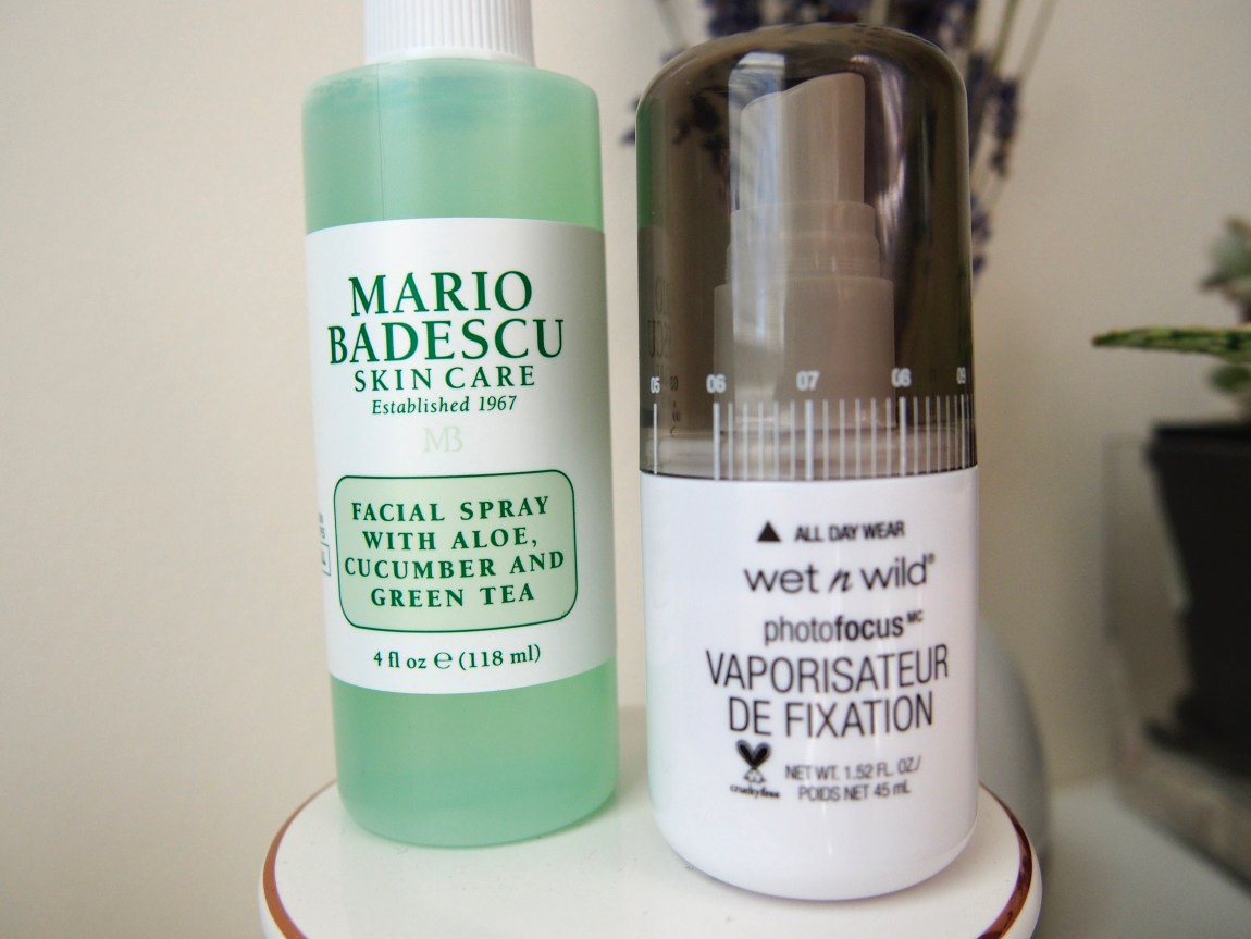 A Few New Beauty Bits - Mario Badescu Facial Spray with Aloe, Cucumber, and Green Tea