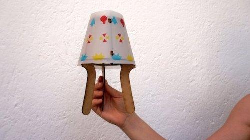 diy lampara creatbox