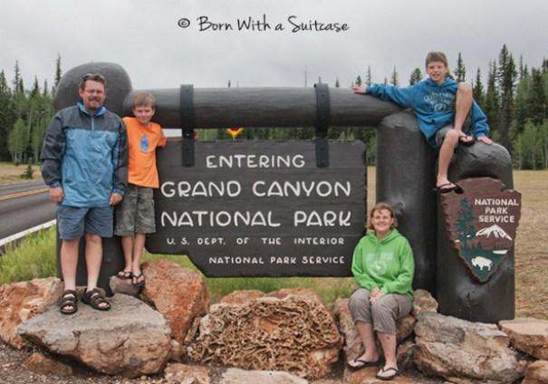 Grand Canyon North vs South Rim