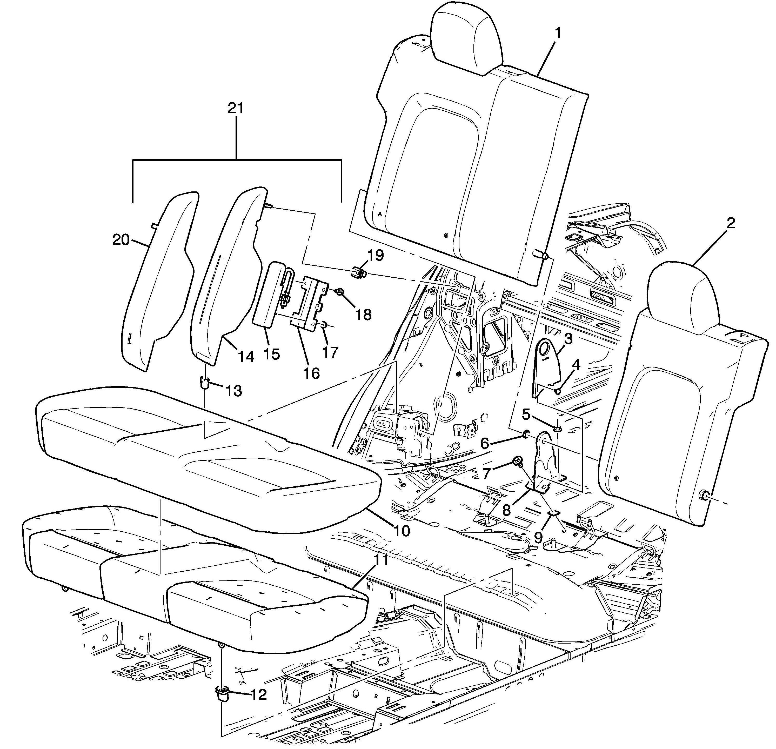 Rear Air Bag