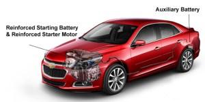 2015 Chevrolet Malibu Auxiliary Power Supply – Boron Extrication