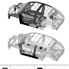 Roof Structure Diagram 12 Volt Subwoofer Wiring 2018 Toyota C-hr Body – Boron Extrication