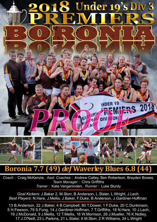 GF Poster Boronia Under 19's Div 3 A2 PROOF