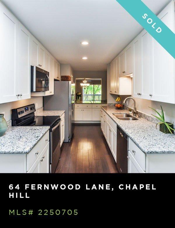 64 FERNWOOD LANE, CHAPEL HILL, MLS# 2250705