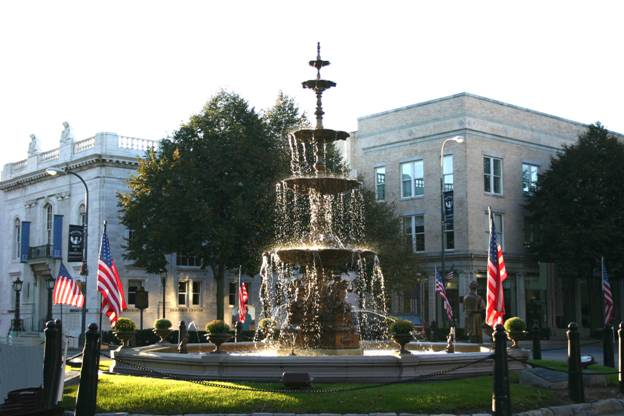 Image result for chambersburg pa town square photos