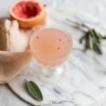 grapefruit salie cocktail