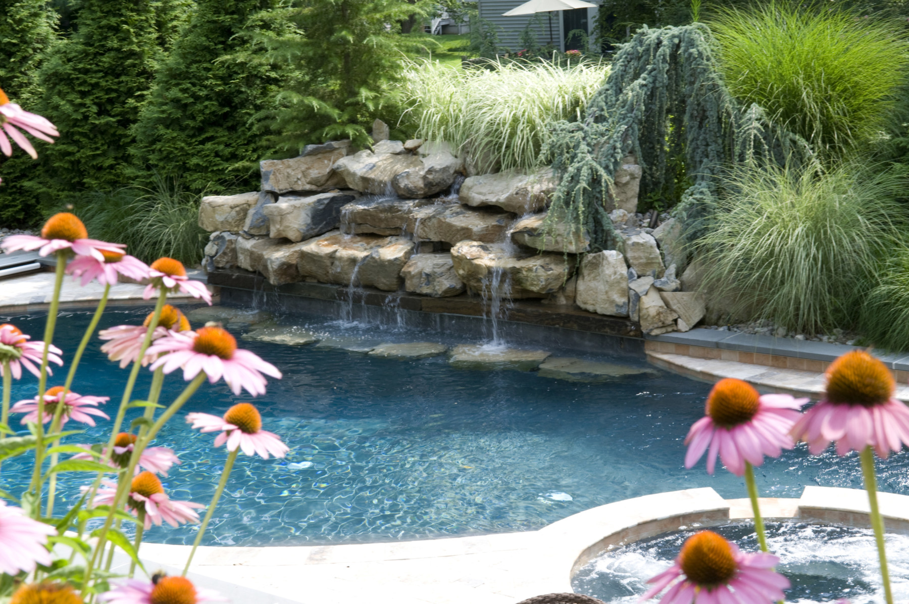 Transform Your Backyard With These Pool Waterfall Ideas In Nj