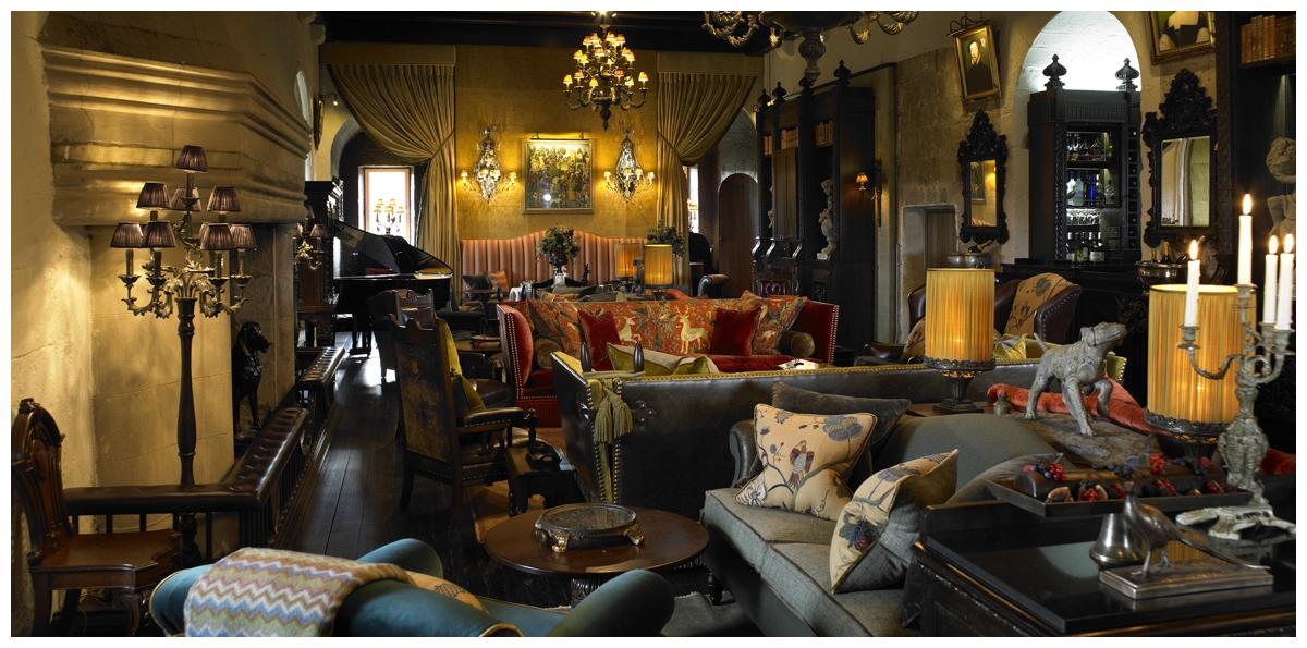 Borthwick Castle honoured with top interior design award