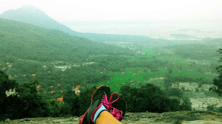 Bersantai di Gunung Parang
