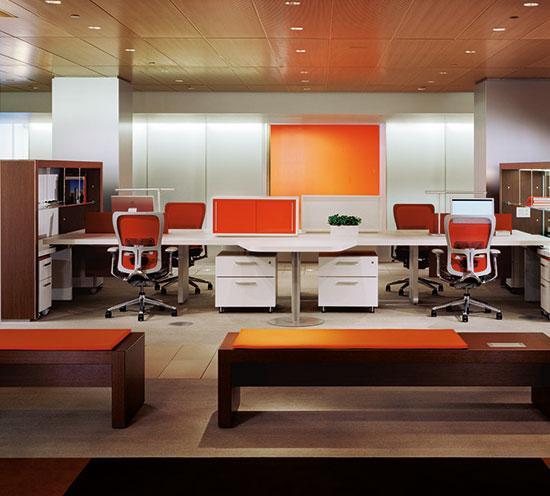 Haworth Patterns Desking  Inspiring Workspaces by BOS