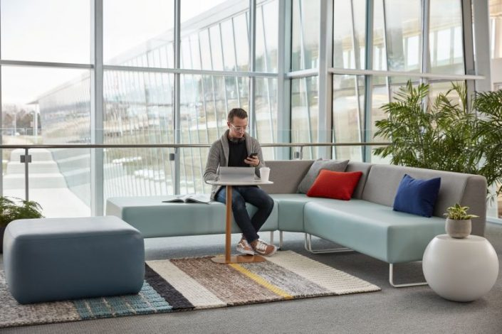 Riverbend and Pebble  Inspiring Workspaces by BOS