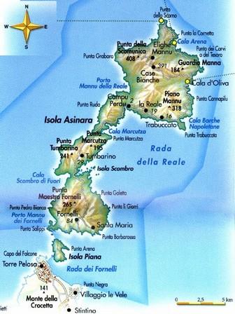 Asinara  Isola dellAsinara  escursione classica  Bosa