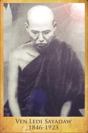 Ven Ledi Sayadaw Vipassana Buda Dhamma