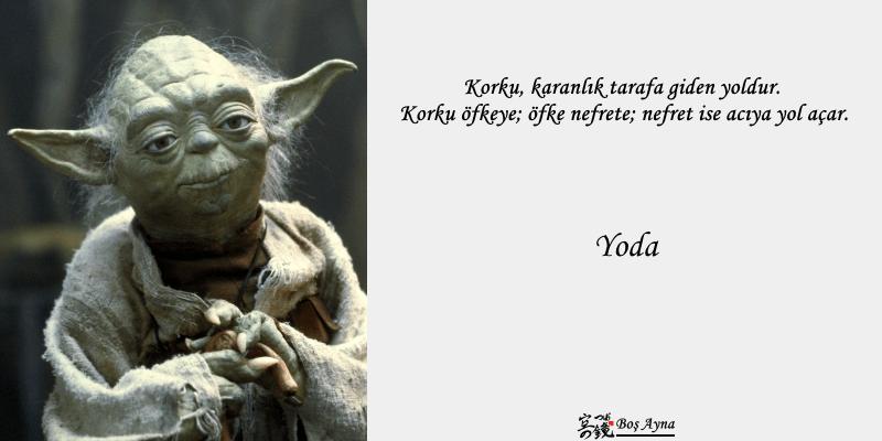 Jedi Master Yoda 01  Star Wars Boş Ayna Not Defteri