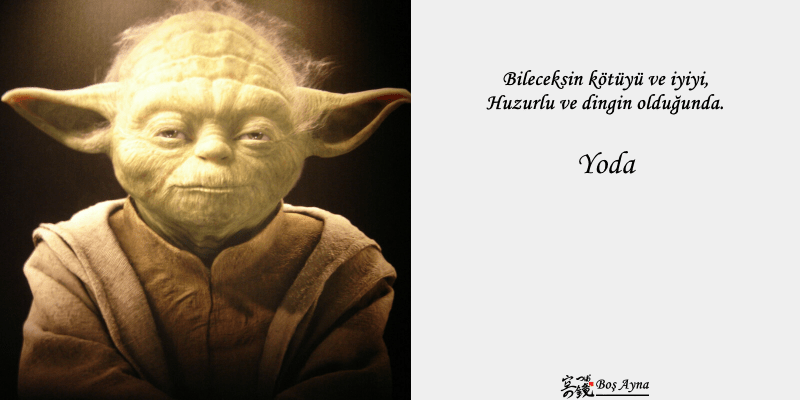 Jedi Master Yoda 10  Star Wars Boş Ayna Not Defteri