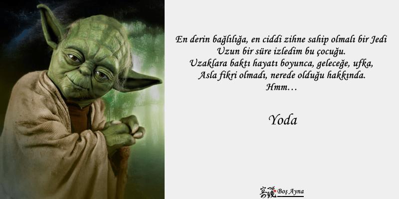 Jedi Master Yoda 12  Star Wars Boş Ayna Not Defteri