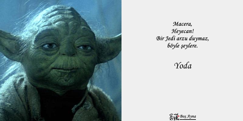 Jedi Master Yoda 15  Star Wars Boş Ayna Not Defteri