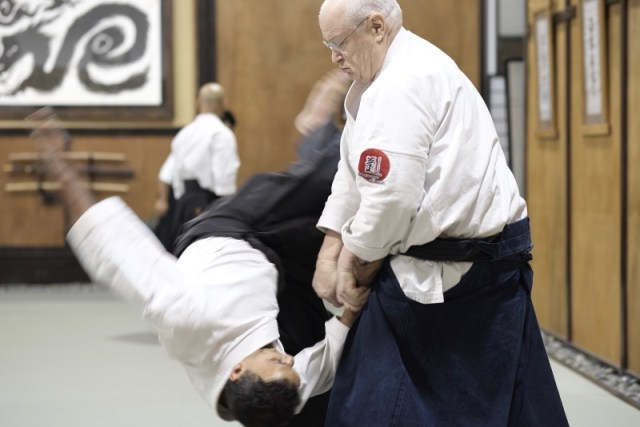 Aikido'da Uke Rolü George Ledyard Sensei