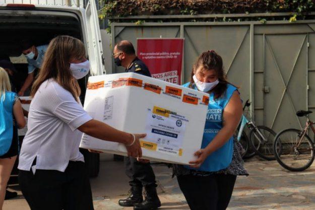 Llegaron a Areco 1200 vacunas Sinopharm de origen chino – BOSCO PRODUCCIONES