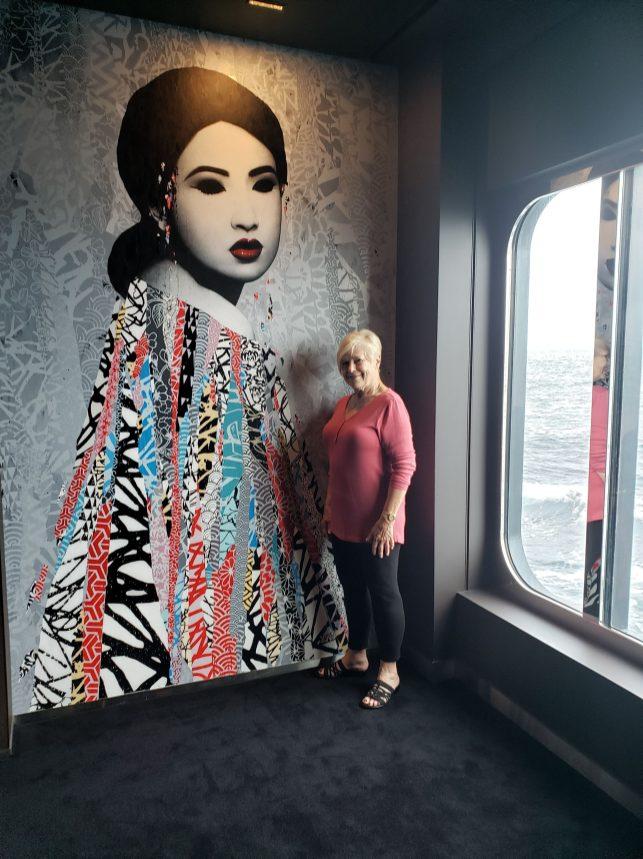 Artwork onboard