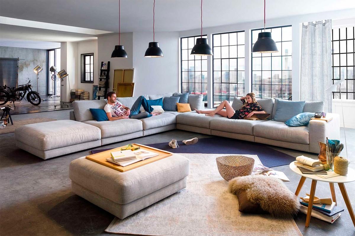 Rigtig Flyder Sofa Med Masser Af Plads Boshop