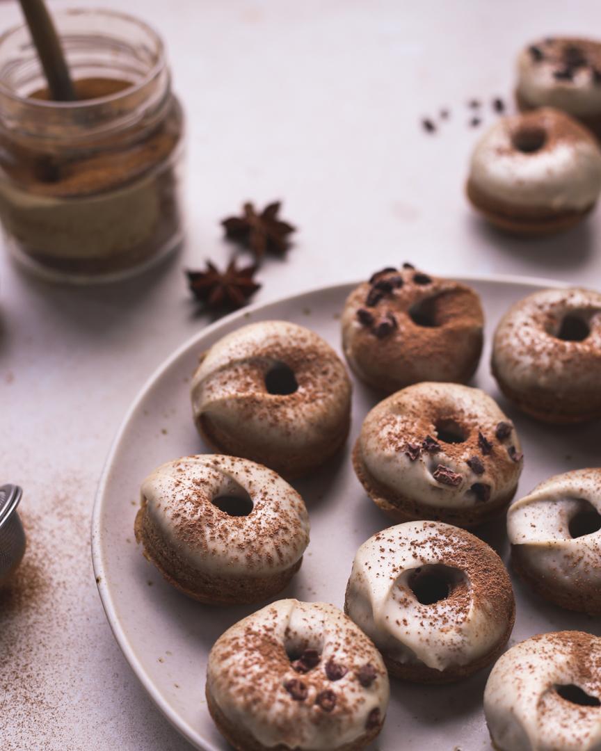 chai latte donuts