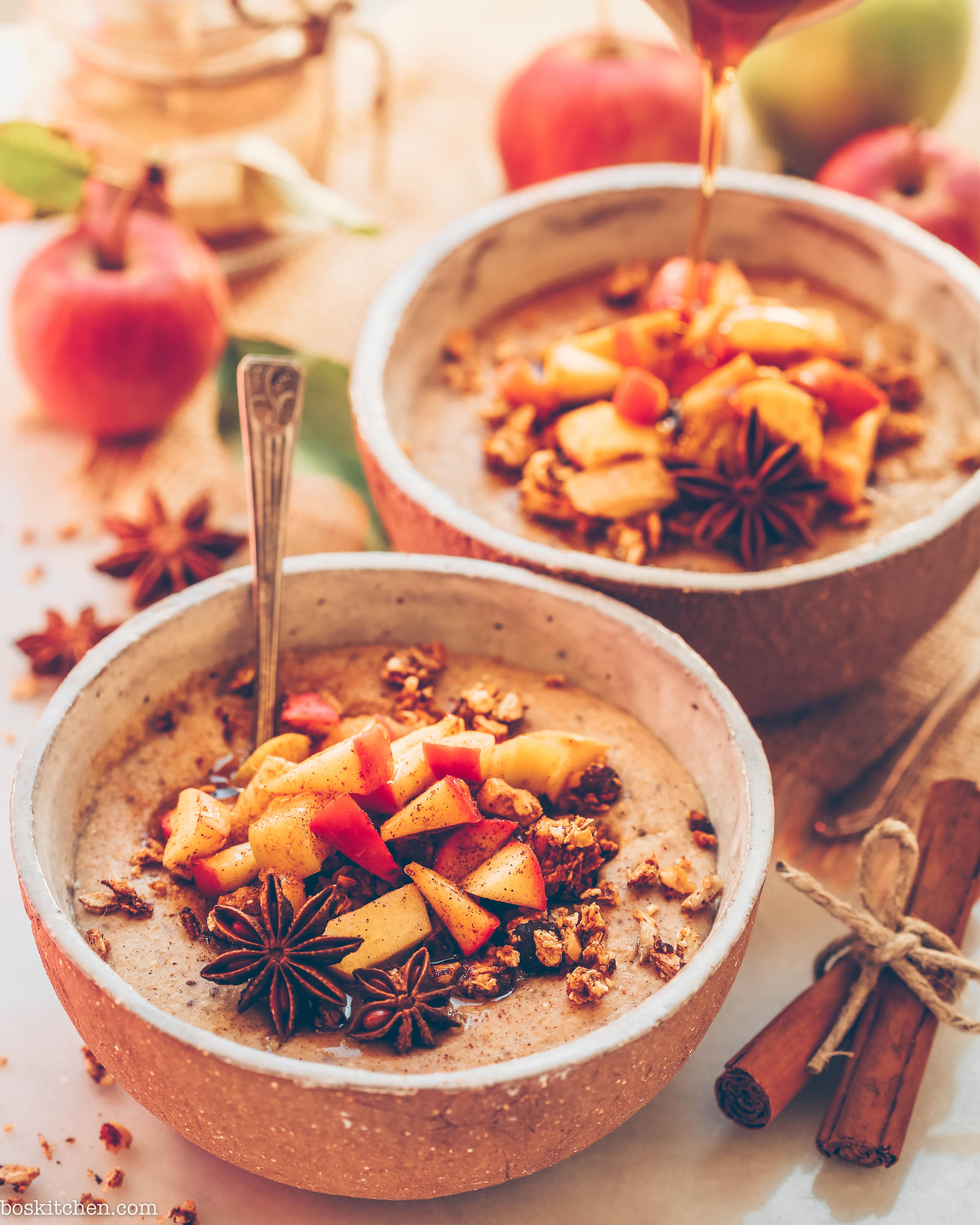 apple oatmeal vegan