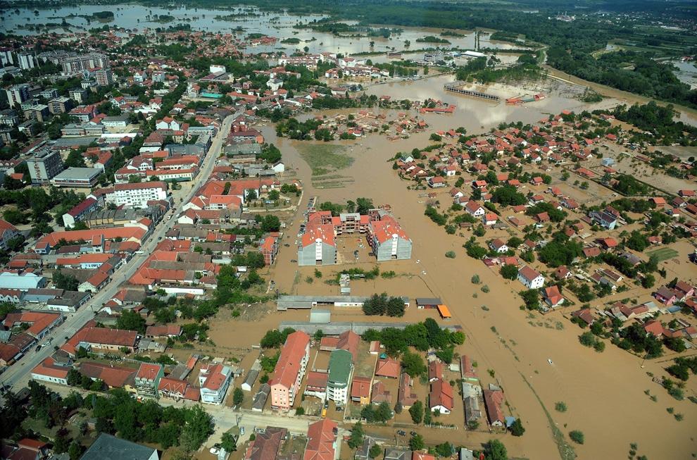 Bosna Hersek - Sel Felaketi---
