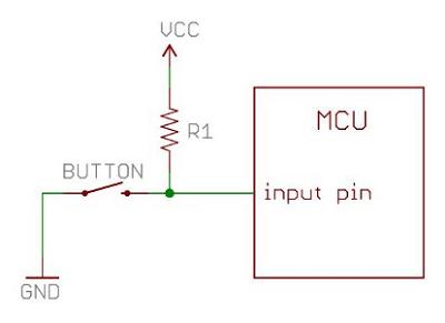 Eletrônica - O que são Resistores de Pull-up - Bóson Treinamentos em Ciência e Tecnologia